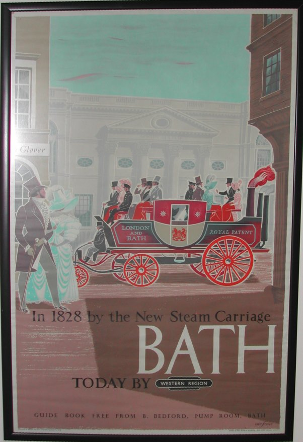 To Bath by Steam Carriage