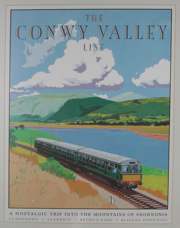 The Conwy Valley