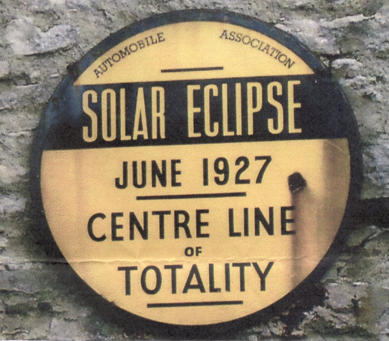 Line of Totality, Richmond, Yorks